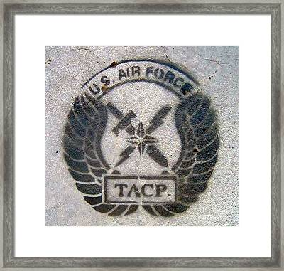 Us Air Force - Tacp Framed Print by Unknown