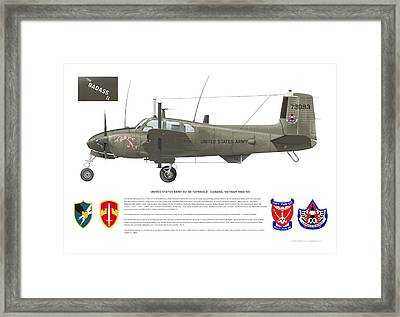 U.s. Army Ru-8d 138th Framed Print