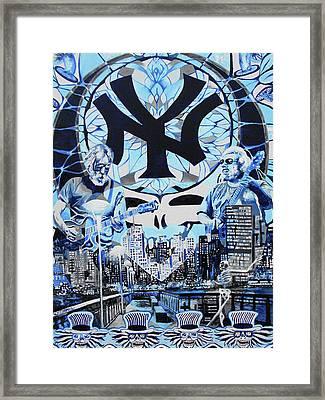 Us Blues Framed Print by Kevin J Cooper Artwork
