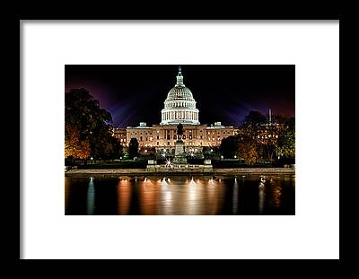 Capitol Building Framed Prints