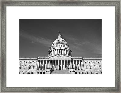 U.s. Capitol Building Framed Print