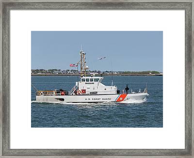 Us Coast Guard Cutter Flyingfish Framed Print by Brian MacLean