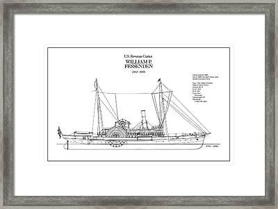 U.s. Coast Guard Revenue Cutter William P. Fessenden Framed Print