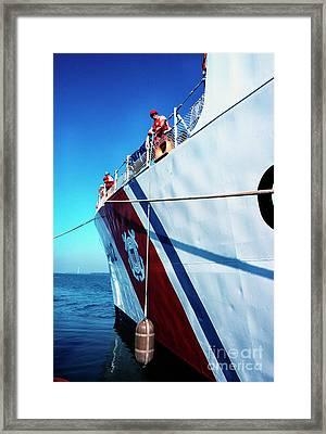 Us Coast Guard  Framed Print by Thomas R Fletcher