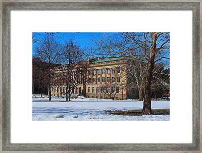 Us Court House And Custom House Framed Print