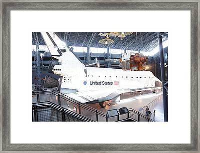 First Space Shuttle Enterprise Framed Print by Art Spectrum