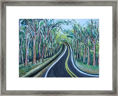 Us Landscpe-15 Framed Print by Anand Swaroop Manchiraju