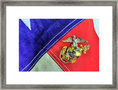Us Marine Corps Framed Print by JC Findley