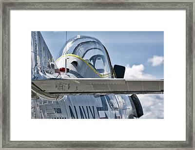 U.s. Navy T-28 Trojan  Framed Print
