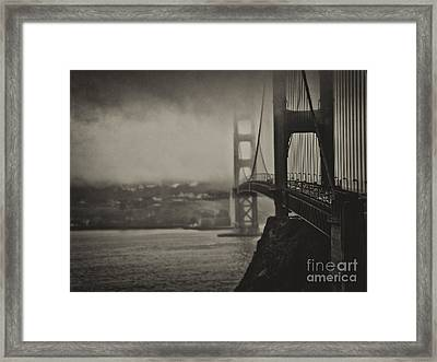 U.s. Route 101 Framed Print by Alessandro Giorgi Art Photography