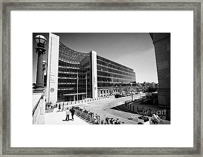 Us Securities And Exchange Commission Sec Washington Dc Usa Framed Print