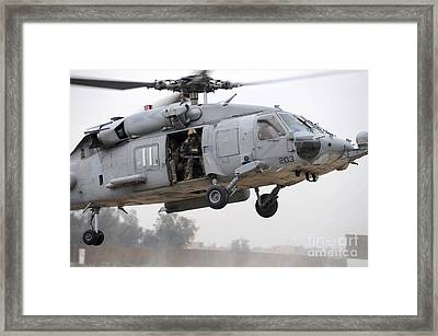 U.s. Special Forces Conduct Assault Framed Print by Stocktrek Images