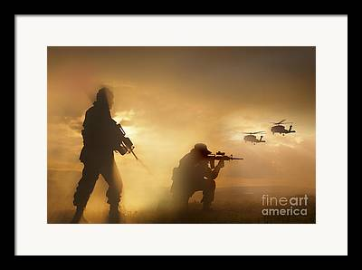Uh-60 Framed Prints