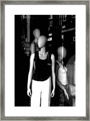 Us Three Framed Print by Jez C Self