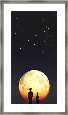 Us Framed Print by Timothy McPherson