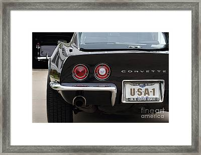 Usa-1 Framed Print by Dennis Hedberg