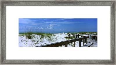 Usa, Florida, Gulf Of Mexico, St Framed Print