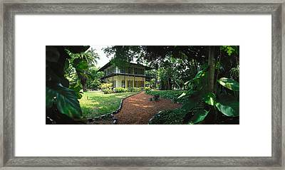 Usa, Florida, Key West, Ernest Framed Print by Panoramic Images