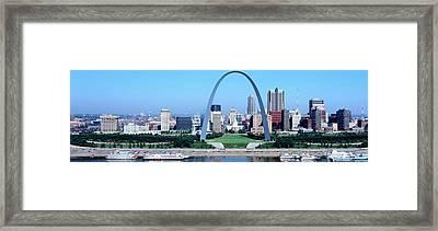 Usa, Missouri, St. Louis, Gateway Arch Framed Print