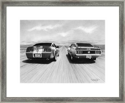 Usa Muscle II Framed Print