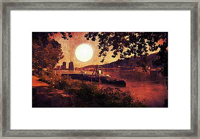 Uss Requin Framed Print by Shelley Smith