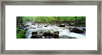 Usa, Tennessee, Great Smoky Mountains Framed Print by Panoramic Images