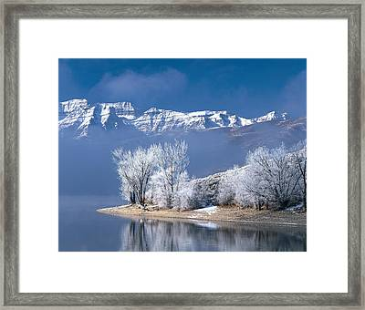 Usa, Utah, Deer Creek State Park Framed Print by Panoramic Images