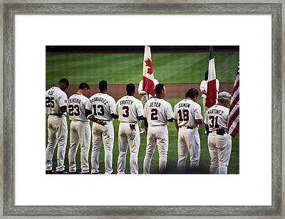 Usa-world Baseball Classic Framed Print