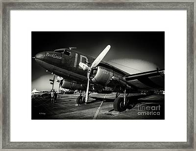 Usaf C-47 Viii Framed Print by Rene Triay Photography