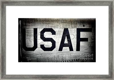 Usaf Framed Print