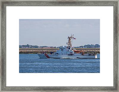 Uscgc Tybee Wpb 1330 Framed Print by Brian MacLean