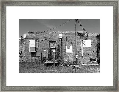 Use Other Door Framed Print by Robert Wilder Jr
