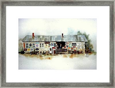 Used Furniture Framed Print