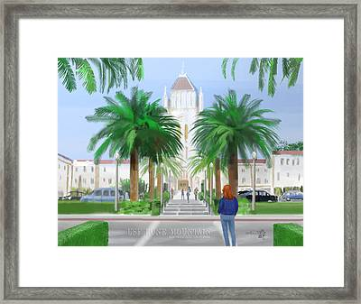 Usf Lone Mountain San Francisco Ca Framed Print