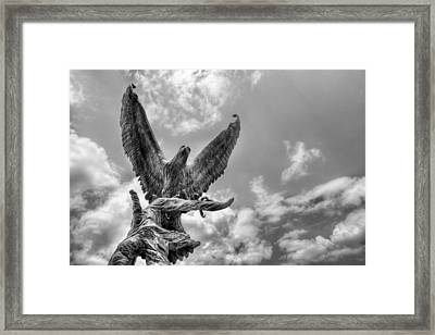 Usm Golden Eagles Framed Print by JC Findley