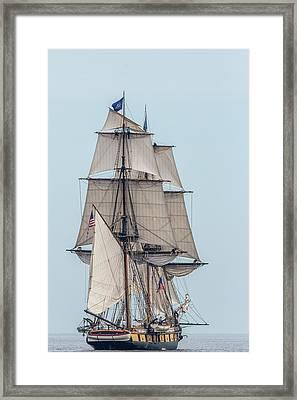 Uss Brig Niagara Framed Print by Paul Freidlund