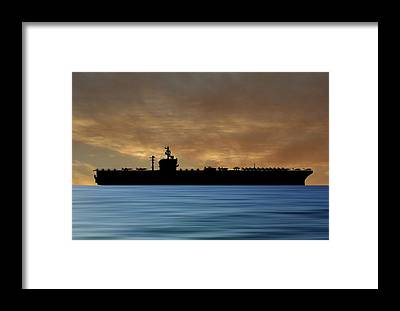 Uss George Washington Framed Prints