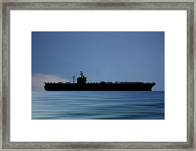 Uss George Washington 1992 V4 Framed Print