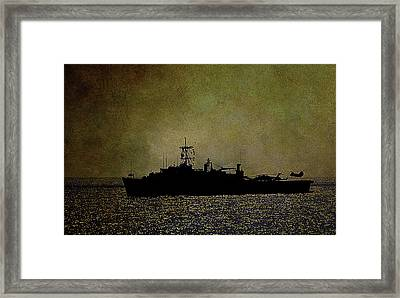Uss Ponce Lpd-15 Framed Print
