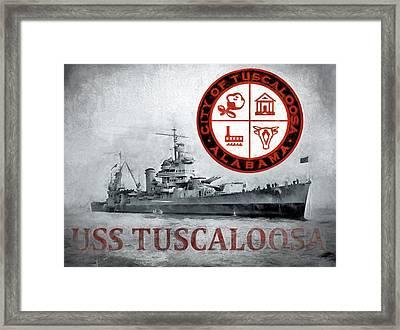 Uss Tuscaloosa Framed Print