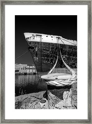 Uss United States Framed Print by Marvin Spates