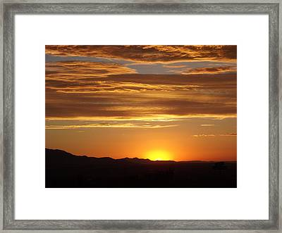 Usualutah Framed Print by Michael Cuozzo