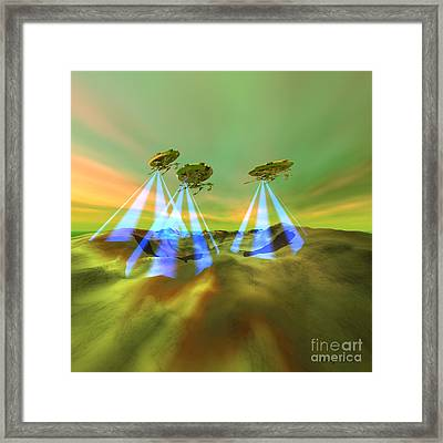 Usurpers Framed Print by Corey Ford