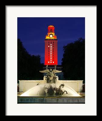 Austin Tx Framed Prints