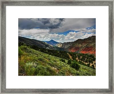 Utah - Flaming Gorge 002 Framed Print