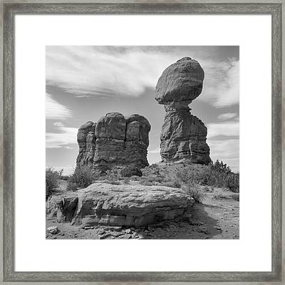Utah Outback 31 Framed Print by Mike McGlothlen