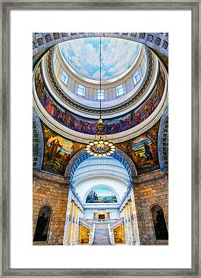 Utah State Capitol Rotunda #2 Framed Print