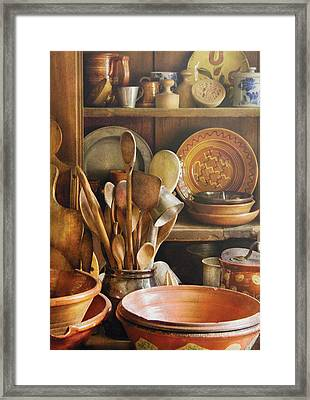 Utensils - Remembering Momma Framed Print
