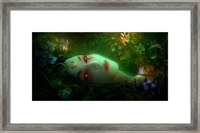 Utherworlds Aadyasha Framed Print