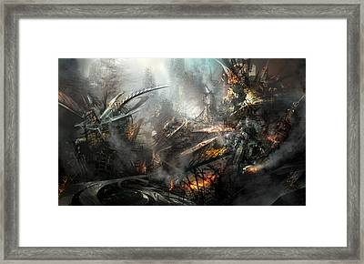 Utherworlds Ashes Framed Print